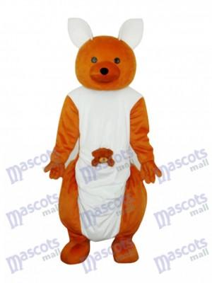 Cute Kangaroo Mascot Adult Costume Animal