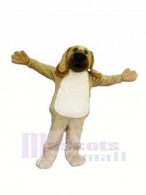 Brown Hound Dog Mascot Costumes Cartoon
