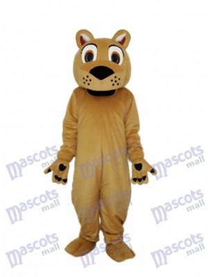 Beardless Lion Mascot Adult Costume Animal