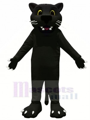 Black Panther Leopard Mascot Costume College