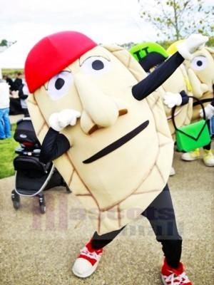 Funny Pierogi Mascot Costume Cartoon