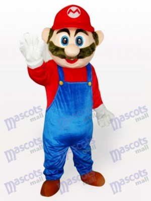 Super Mario Anime Adult Mascot Funny Costume