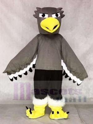 Grey Seahawk Mascot Costumes Animal