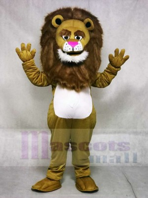 New Fierce Wally Lion Mascot Costume Animal
