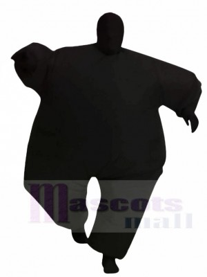 Black Full Body Suit Inflatable Halloween Christmas Costumes for Adults