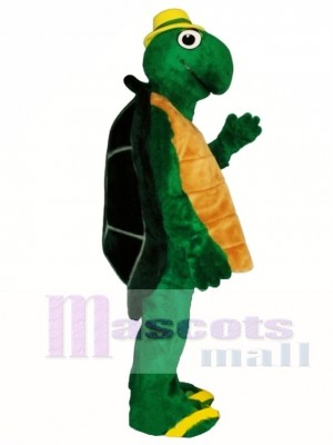 Wilbur Turtle with Hat Mascot Costume Animal