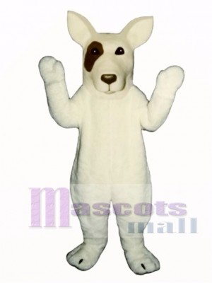 Cute Bull Terrier Dog Mascot Costume