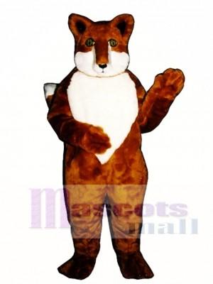 Cute Foxie Fox Mascot Costume