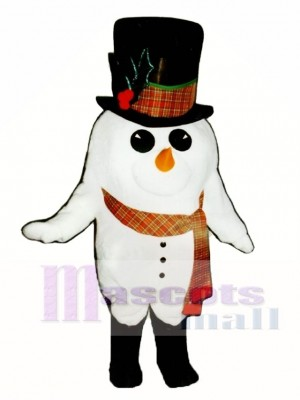 Madcap Snowman with Boots & Scarf Mascot Costume