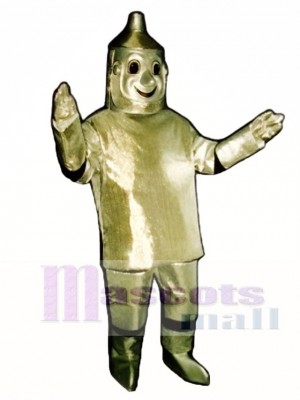 Tin Man with Hat Mascot Costume