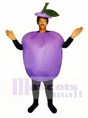 Plum Mascot Costume Fruit