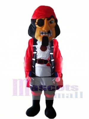 Captain Pirate Mascot Costumes People