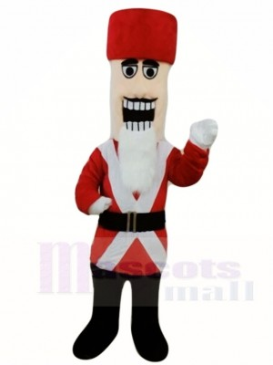 Marching Nutcracker Mascot Costumes People Christmas Xmas