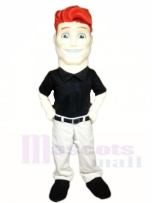 Red Hair Man Mascot Costumes People
