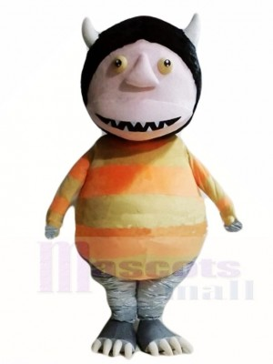 Monster with Black Tail Mascot Costumes Cartoon