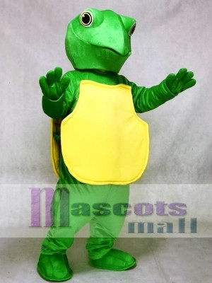 Green Turtle Mascot Costume Ocean