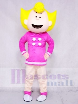 Sally Brown from Snoopy Dog Mascot Costumes Cartoon People