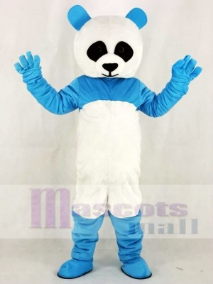 Blue Panda Mascot Costumes Animal