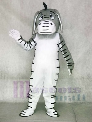 Grey Donkey Mascot Costumes Animal