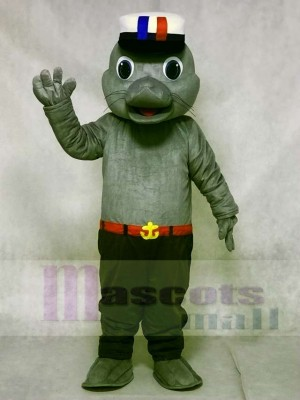 Cute Sailor Sea Lion Seal Mascot Costumes Animal