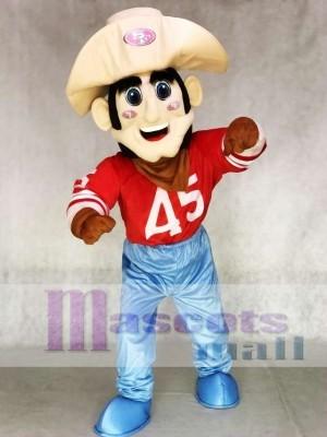 Sourdough Sam 49ers Mascot Costume