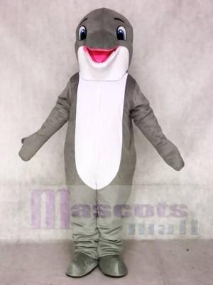Lovely Grey Dolphin Mascot Costumes Sea Ocean