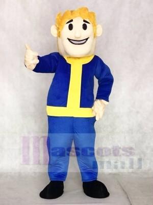 Fat Vault Boy Mascot Costumes People