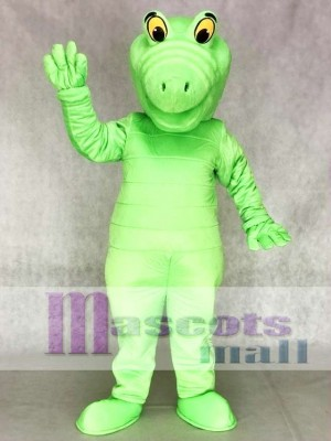 Green Albert Alligator Mascot Costumes Animal