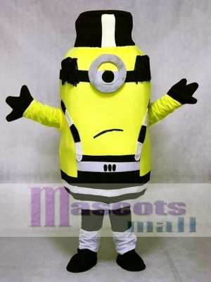 Unhappy Minion in Prison Despicable Me Mascot Costumes
