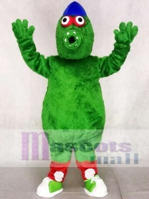 Green Monster Phillie Phanatic Team Mascot Costumes