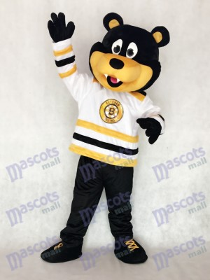Estevan Bruins Bear Custom Ice Hockey Mascot Costume