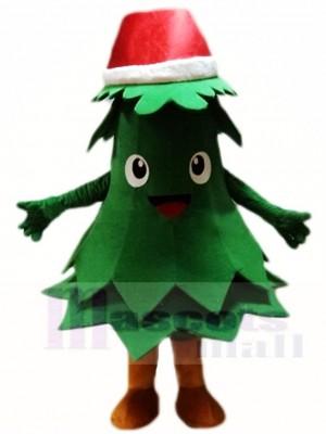 Red Hat Christmas Tree Mascot Costumes Xmas