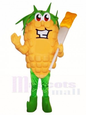 Butter Corn Mascot Costumes Food Plant