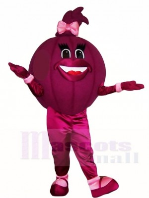 Purple Onion Mascot Costumes Vegetables