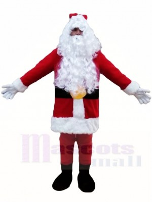 Santa Claus Father Christmas Xmas Mascot Costumes People