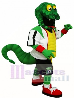 Green Snake Rattlers Mascot Costumes