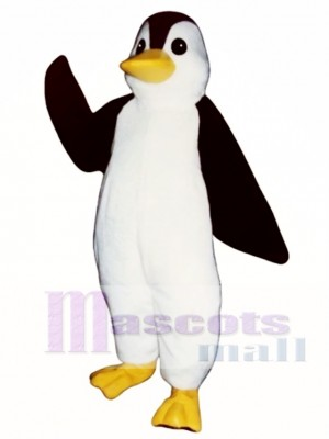 Cute Playful Penguin Mascot Costume
