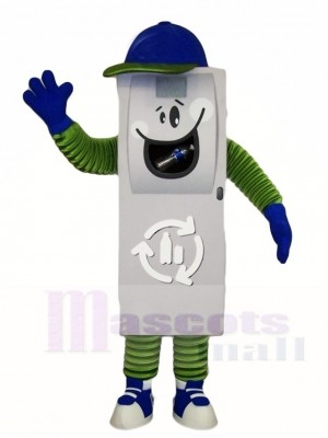 Trash Can Ash Bin Garbage Can Mascot Costumes