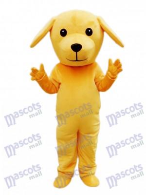 Yellow Dog Mascot Costume Animal