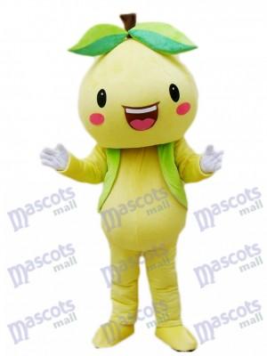 Yellow Pomelo Shaddock Grapefruit Mascot Costume Fruit