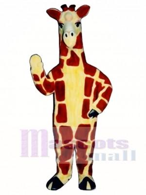 Realistic Giraffe Mascot Costume