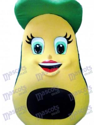 Fresh Avocado Mascot Costume Fruit Food Plant