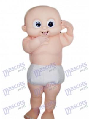 Big Eyes Baby Mascot Costume Cartoon