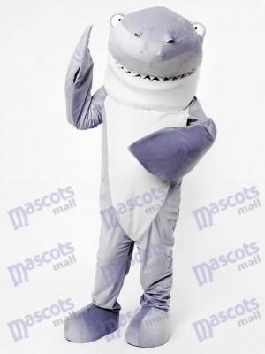 Gray Shark Mascot Adult Costume