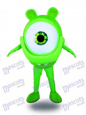 Green Eye Glasses Sight Protection Advertising Mascot Costume