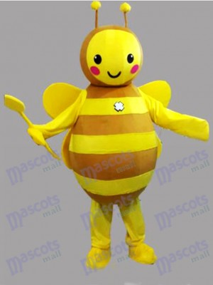 Yellow Bee Mascot Costume Insect