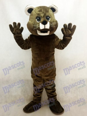 Brown Baby Cougar Mascot Costume Animal