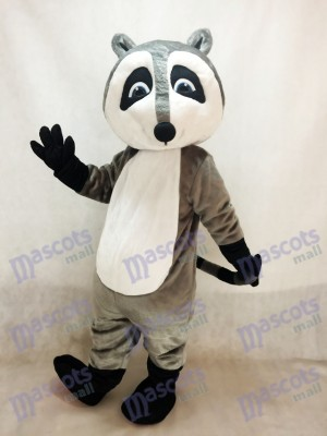 Grey Raccoon Mascot Costume Animal