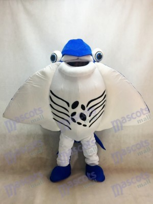 Manta Ray Devil Rays Mascot Costume Ocean Aquarium