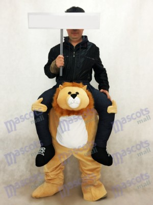 Piggyback Lion Carry Me Ride on Mascot Costume